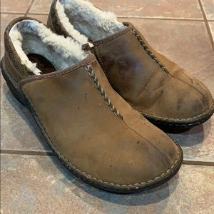 UGG slip on clogs shoes mules slippers distressed